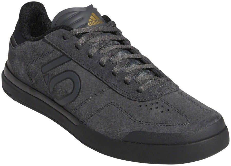 Five Ten Five Ten Sleuth DLX Men's Flat Shoe: Gray Six/Black/Matte Gold 10.5