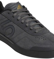 Five Ten Five Ten Sleuth DLX Men's Flat Shoe: Gray Six/Black/Matte Gold 10