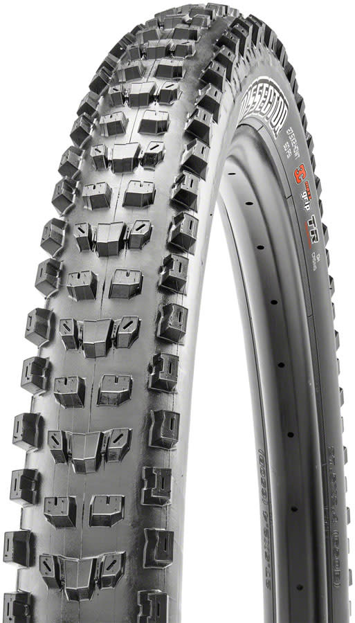 Maxxis Maxxis, Dissector, Tire, 29''x2.40, Folding, Tubeless Ready, 3C Maxx Grip, 2-ply, Wide Trail, 60TPI, Black