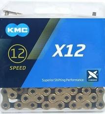 KMC KMC, X12-Ti, Chain, Speed: 12, 5.2mm, Links: 126, Black