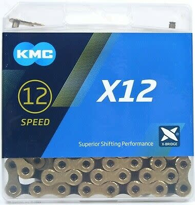 KMC KMC, X12-Ti, Chain, Speed: 12, 5.2mm, Links: 126, Black