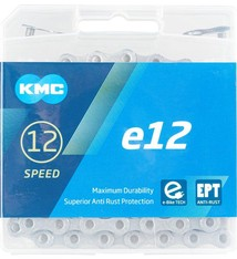 KMC KMC E12 EPT Chain - 12-Speed, 136 Links, Silver