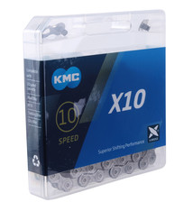 KMC KMC, X10 GY/GY, Chain, Speed: 10, 5.88mm, Links: 116, Grey