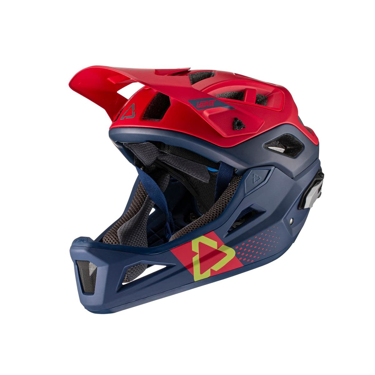 Leatt MTB 3.0 Enduro Helmet, S (51-55cm) Chilli