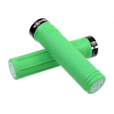 Gusset S2 Clamp-On Grips, Green - Pair