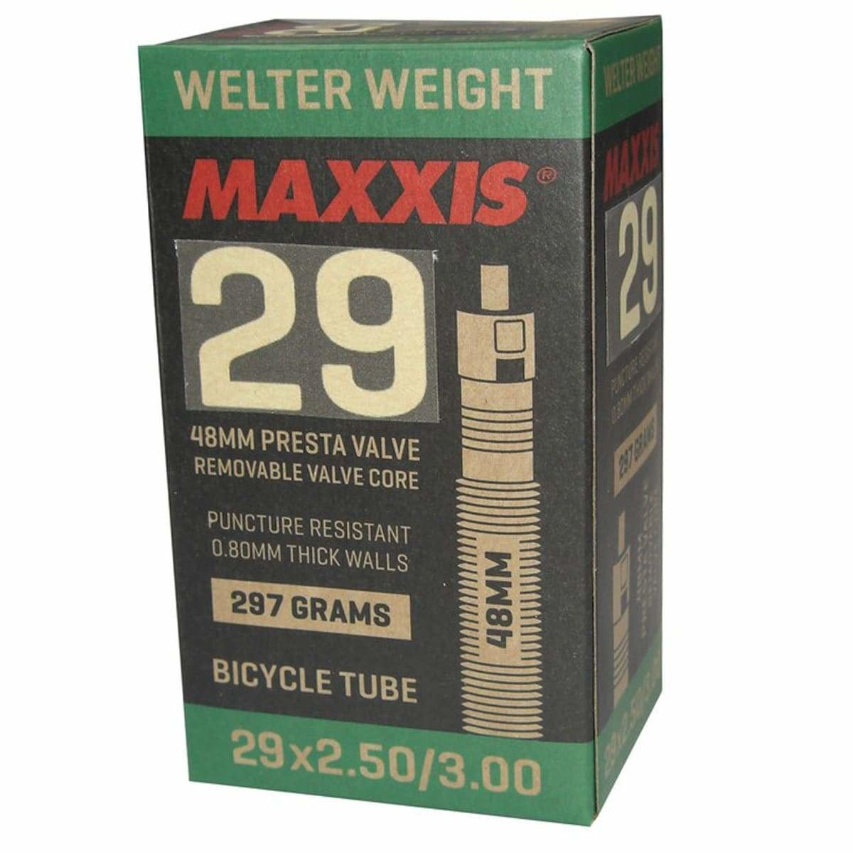 Maxxis Maxxis, Plus Tube Presta, Tube, Presta, Length: 48mm, 29'', 2.5-3.0