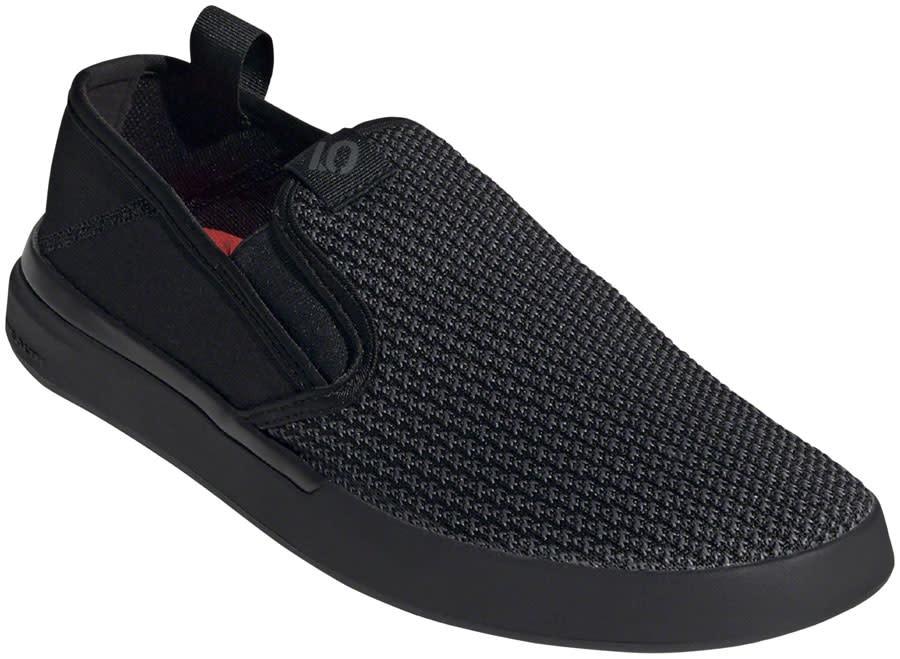 Five Ten Five Ten Sleuth Slip-on Men's Flat Shoe: Black/Gray Six/Gray Three 9.5