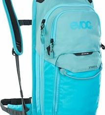 EVOC EVOC, Stage 6 + 2L Bladder, Hydration Bag, Volume: 6L, Bladder: Included (2L), Aqua Blue/Neon Blue