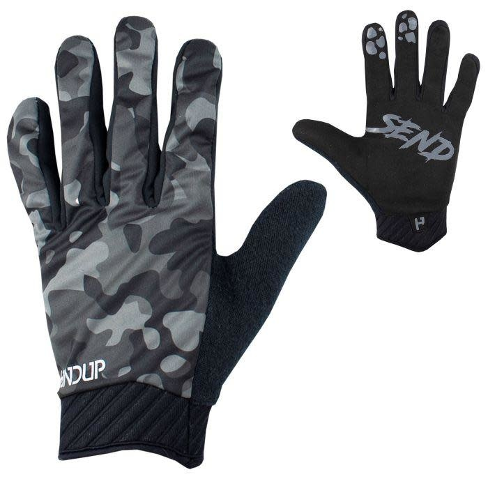 Handup Gloves - Cold Weather - Night Camo - LARGE