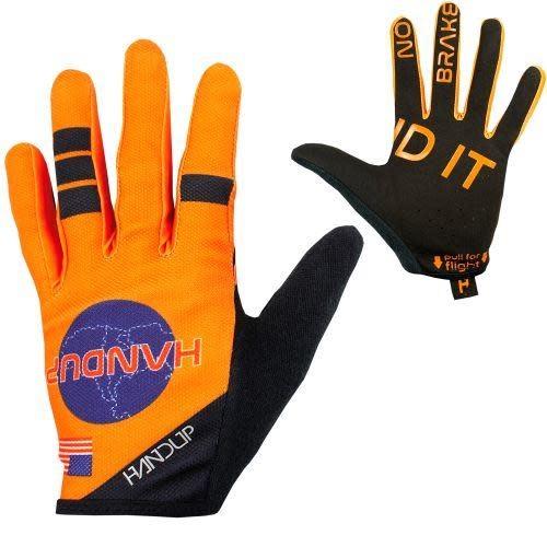 Handup Gloves - Shuttle Runners - Orange - LARGE