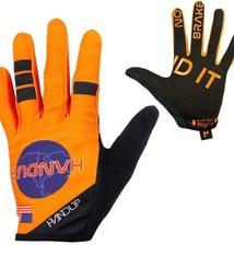 Handup Gloves - Shuttle Runners - Orange - MEDIUM