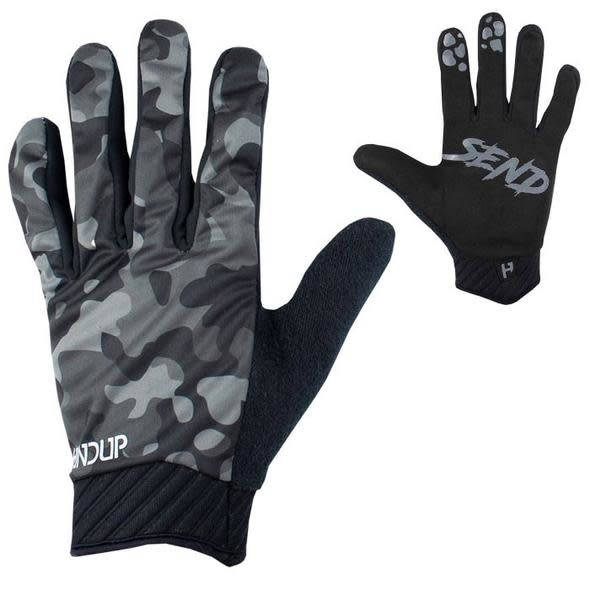 Handup Gloves - Cold Weather - Night Camo - SMALL