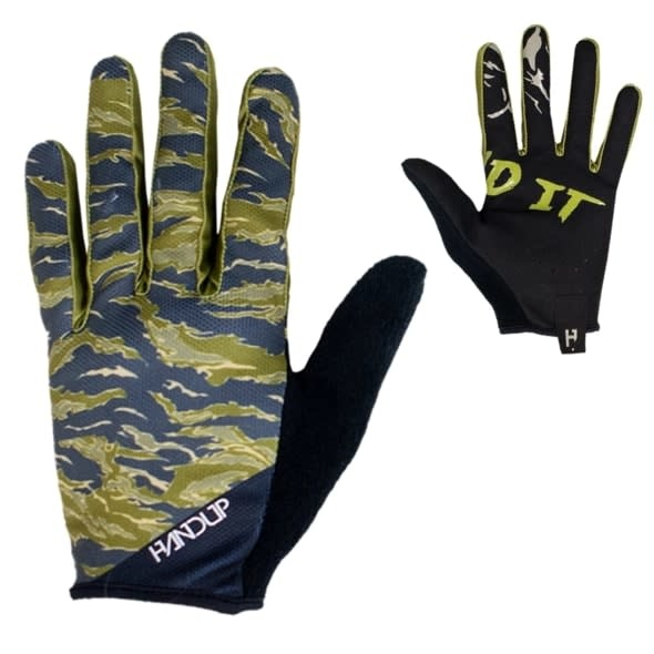 Handup Gloves - Tiger Camo - X LARGE