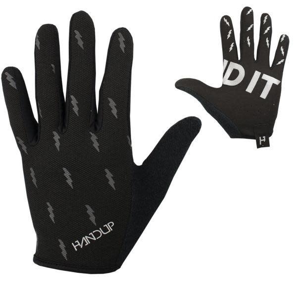 Handup Gloves - Blackout Bolts - X LARGE