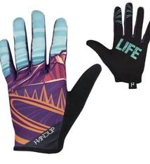 Handup Gloves - Mtn Life - Purple / Teal - X LARGE