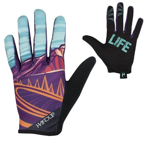 Handup Gloves - Mtn Life - Purple / Teal - X LARGE