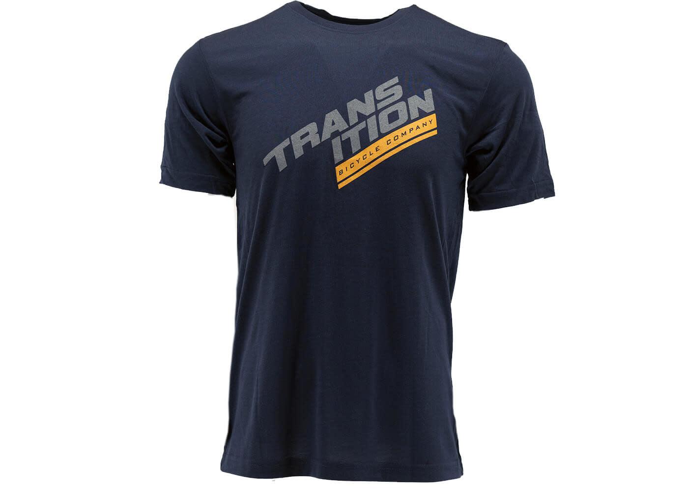 Transition Transition Swift Jersey: Split Logo (Medium, Navy)