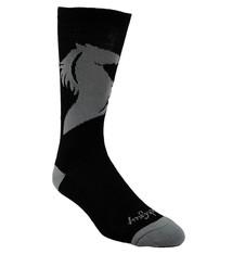 Transition Transition GiddyUp Grey Wool Socks
