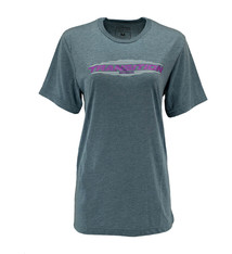 Transition Womens T-Shirt: Transition Logo (Large, Midnight Blue)