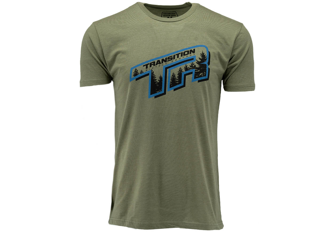 Transition T-Shirt: TR Trees (Olive Green, XX-Large)