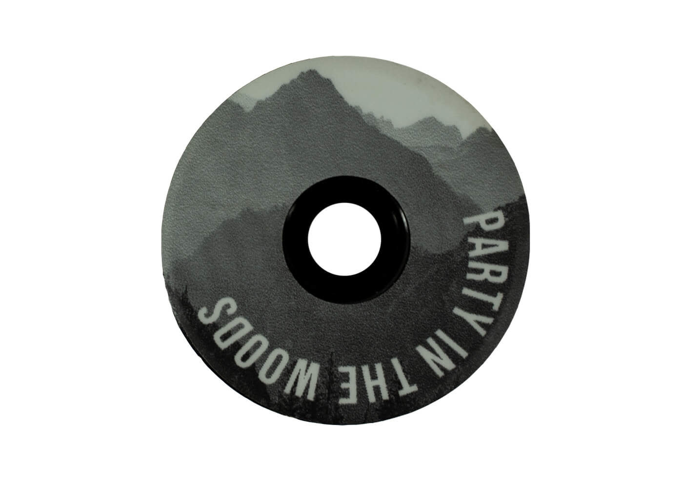 Transition Ground Keeper Top Cap: (Black and White Peaks)