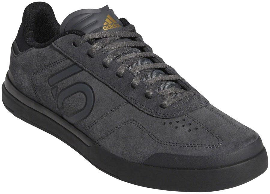 Five Ten Five Ten Sleuth DLX Men's Flat Shoe: Gray Six/Black/Matte Gold 11