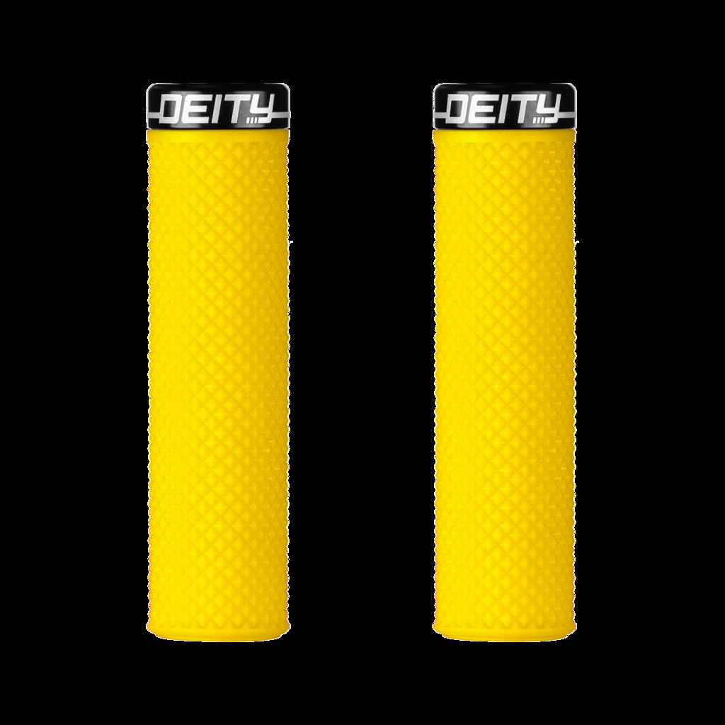 Deity Supracush Grips - Yellow