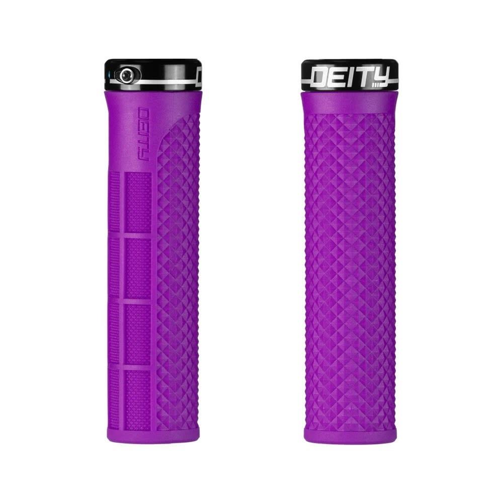 Deity Components Deity, Lockjaw Grips - Purple