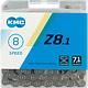 KMC KMC, Z8.1, Chain, Speed: 6/7/8, 7.1mm, Links: 116, Grey