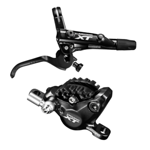 Shimano Shimano XT BL-M8000/BR-M8000 Disc Brake and Lever - Front, Hydraulic, Post Mount, 2-Piston, Black