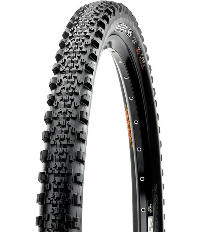 Maxxis Maxxis, Minion SS, Tire, 29''x2.50, Folding, Tubeless Ready, 3C Maxx Grip, 2-ply, Wide Trail, 60x2TPI, Black