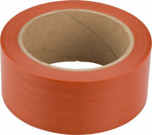 Orange Seal Tubeless Rim Tape, 45mm x 60 Yard Roll - Orange