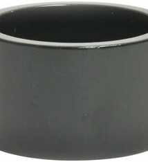 "WHEELS MANUFACTURING Wheels Manufacturing Aluminum Headset Spacer - 1-1/8"", 20mm, Black, 1-each"