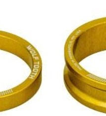 Wolf Tooth Wolf Tooth Headset Spacer Kit 3, 5, 10, 15mm, Gold