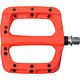 HT Components HT Components, PA03A, Nano P, Platform Pedals, Body: Nylon, Spindle: Cr-Mo, 9/16'', Orange, Pair