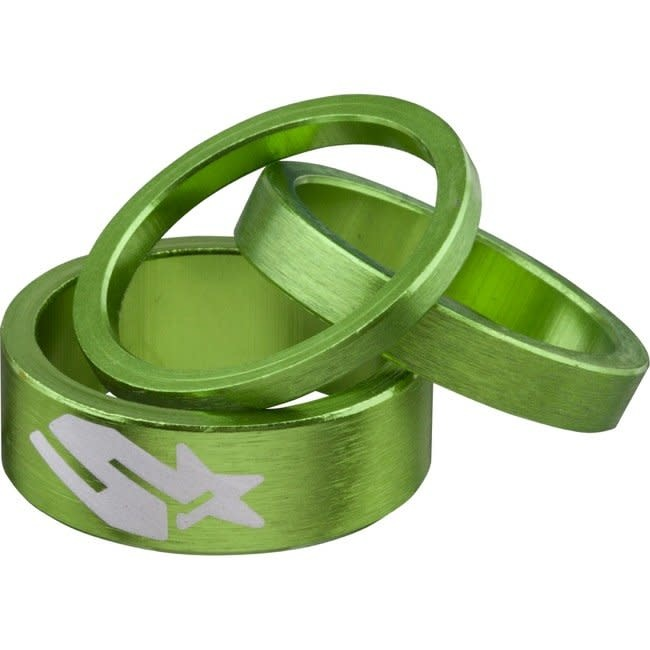 Spank Spank, Spacer kit, 3/6/12mm, Green