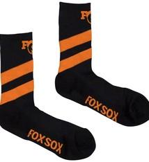 "Race Face Fox High Tail 7"" Sock-Black-S/M"