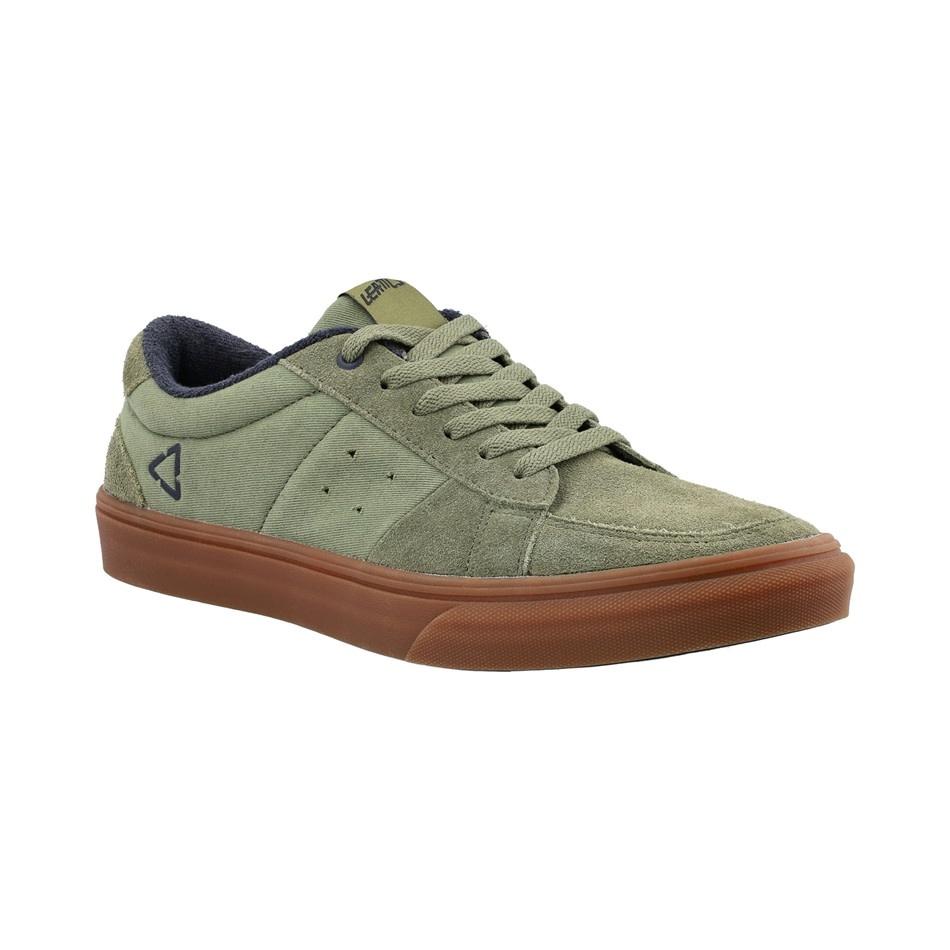 Leatt DBX 1.0 Flat Shoes, Cactus Green - 9