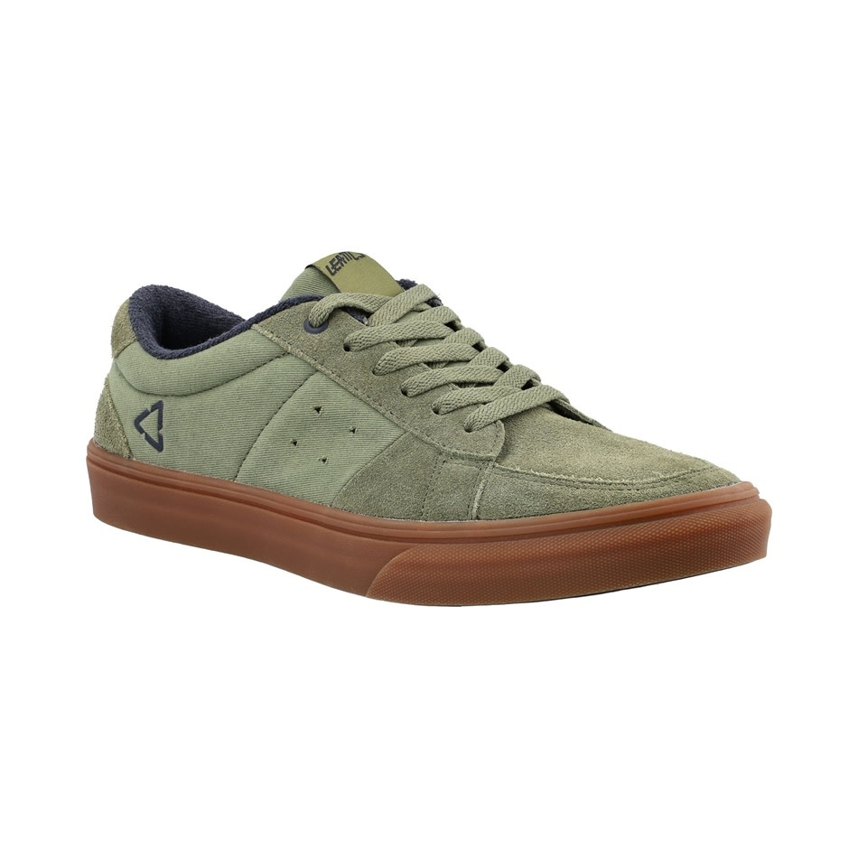 Leatt DBX 1.0 Flat Shoes, Cactus Green - 8.5
