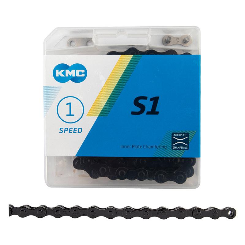 KMC S1 BMX Chain, Painted Black