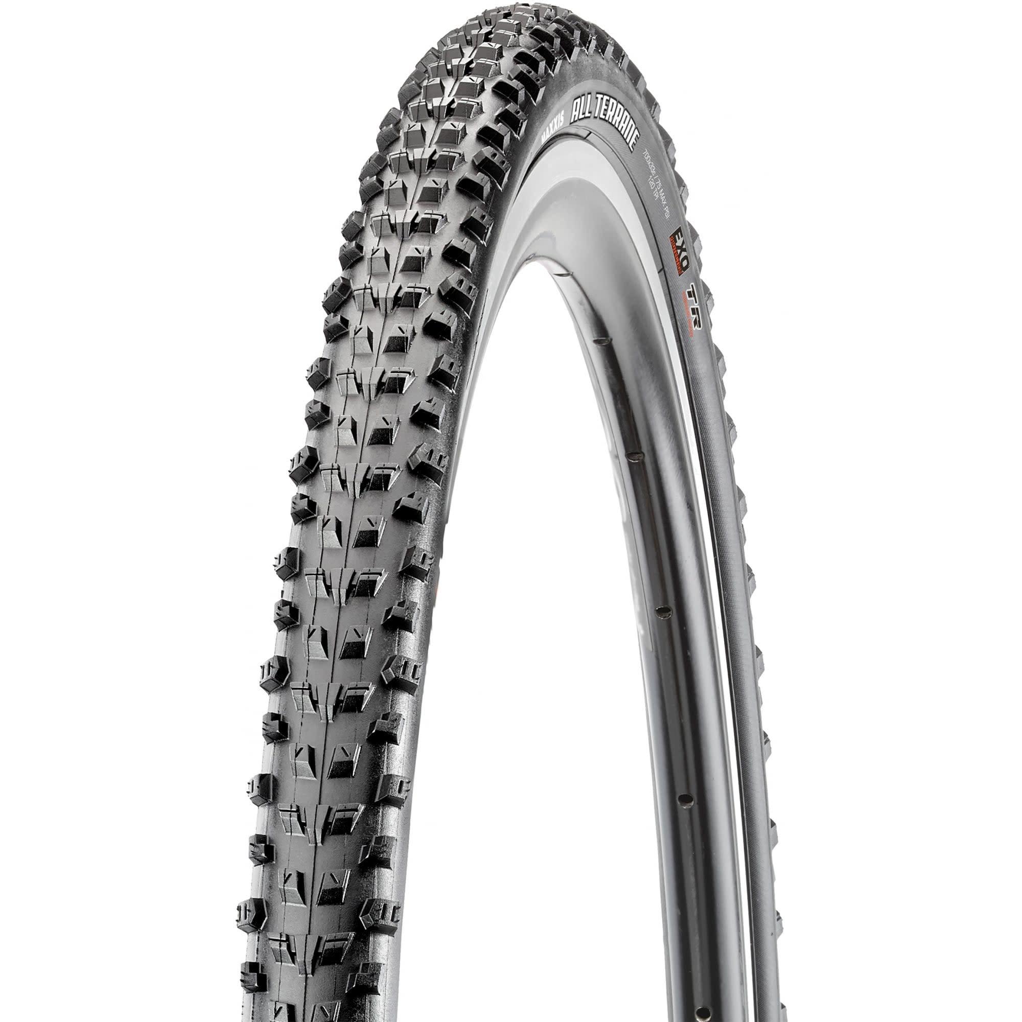 Maxxis Maxxis, All Terrane, Tire, 700x33C, Folding, Tubeless Ready, Dual, EXO, 120TPI, Black