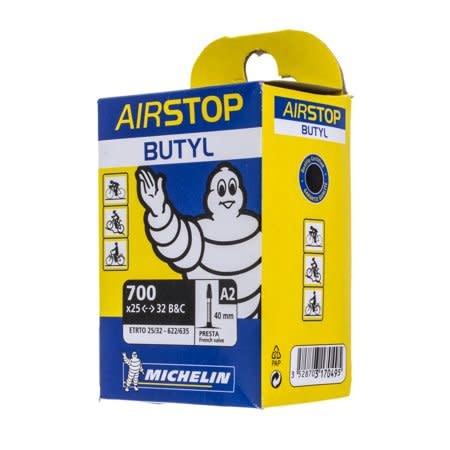 Michelin Michelin, Airstop Butyl, Tube, Presta, 40mm, 700x25-32