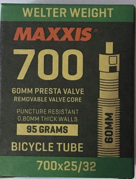 """Maxxis Maxxis Welter Weight Tube, 700c x 25-32c"""" PV RVC 60mm"""