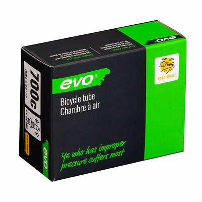 EVO EVO, Presta, Tube, Length: 48mm, 700C, 23-25C