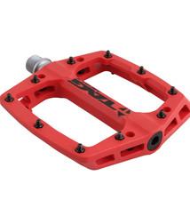 Tag Metals Tag Metals T3 Nylon Platform Pedals, Red