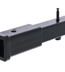 """RockyMounts Hitch Extension, 8"""", With Bolt And Lock - Black"""