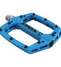 Tag Metals T3 Nylon Platform Pedals, Blue