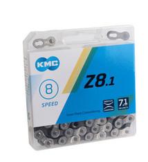 KMC KMC Z8.1 Chain - 6, 7, 8-Speed, 116 Links, Silver/Gray