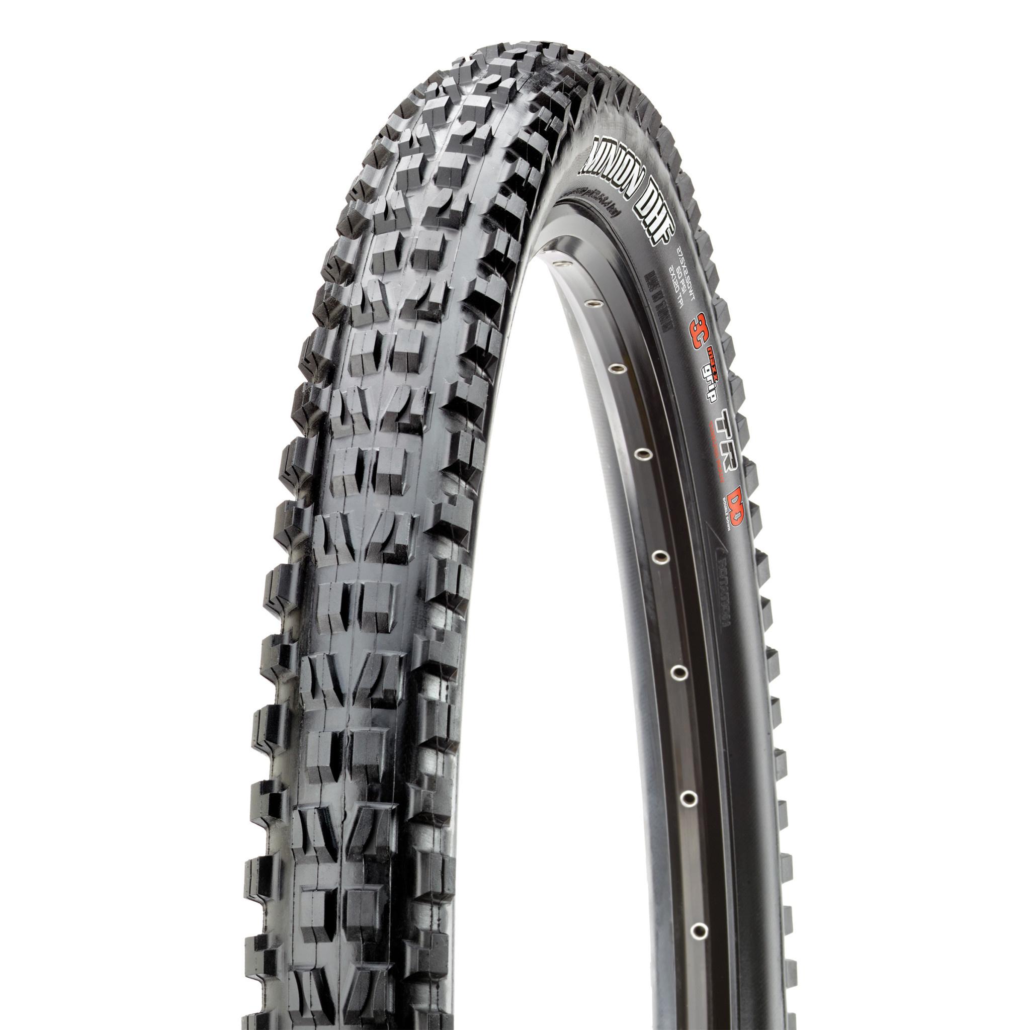 Maxxis Maxxis, Minion DHF, Tire, 24''x2.40, Folding, Tubeless Ready, 3C Maxx Terra, EXO, 120TPI, Black