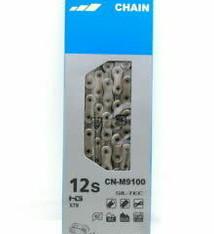 Shimano Shimano XTR CN-M9100 Chain - 12-Speed, 126 Links, Silver